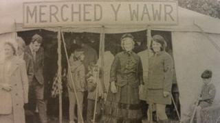 Stondin Merched y Wawr yn Eisteddfod Genedlaethol Y Bala 1967