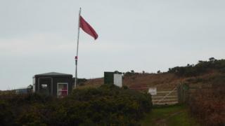 Castlemartin firing range