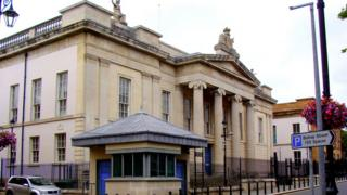 DERRY Bishop's Street Court house