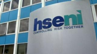The Health and Safety Executive for Northern Ireland sign