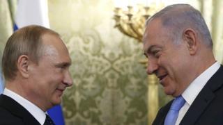 Putin and Netanyahu