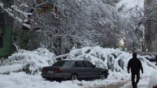 сніг, дніпро