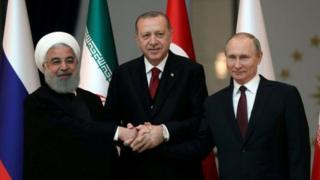 Путин, Эрдоган жана Роухани апрель айында Сириядагы абал боюнча сүйлөшүүлөрдү өткөргөн