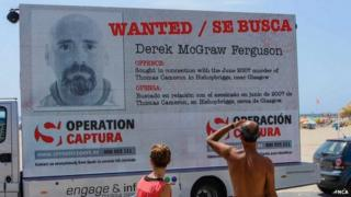 Derek McGraw Ferguson's face on van