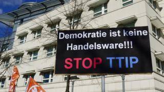 Anti-TTIP protest, Berlin - file pic