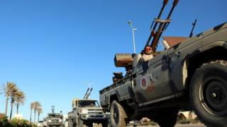 Pro-government forces in Misrata
