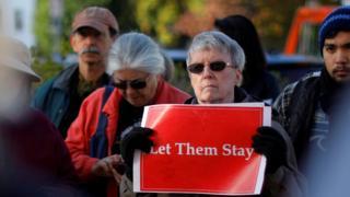 Amerika Serikat, imigran, unjuk rasa, New Hamphsire