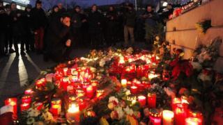 Політики і громадяни зібралися, аби вшанувати жертв нападу