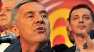 Montenegrin Prime Minister Milo Djukanovic