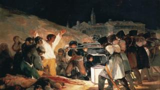 戈雅的作品《1808年5月3日的枪杀》