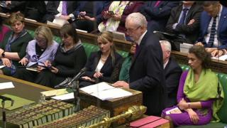 Jeremy Corbyn on Budget day