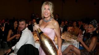 Festa e champanhe
