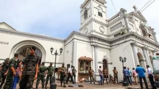 कोलंबो में हमला