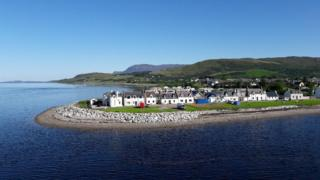 Richard Cook loved the stillness of the water in Ullapool