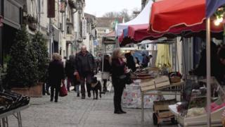 Market in Eymet