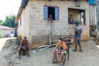 Casa em quilombo de Ivaporunduva