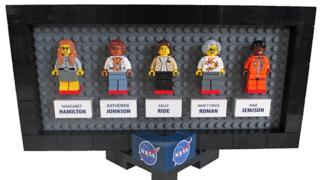 """Science writer Maia Weinstock's winning """"Women of Nasa"""" design will be the basis for a new Lego collection"""