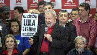 Coletiva de imprensa de Lula em São Paulo no dia 13 de julho de 2017