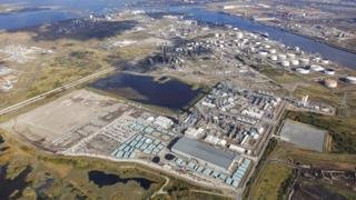 Air Products sites on the Tees Valley