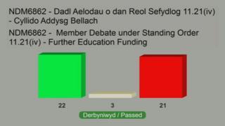 Assembly vote