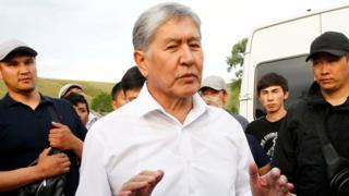 Алмазбек Атамбаев 27 июля 2019 года