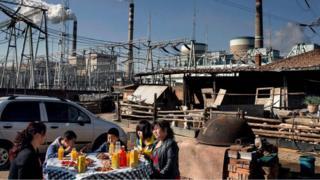 Cina, batu bara