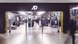 JD Sports store