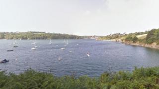 Mouth of the River Helford, Cornwall