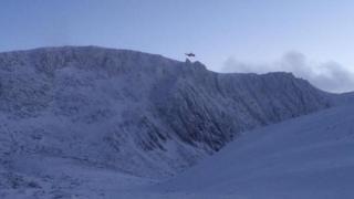 Inverness Coastguard helicopter