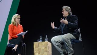 Sarah Smith interviews Steve Bannon