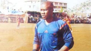 Victor Marah a pris part à un cours d'arbitrage à la CAF en août dernier.