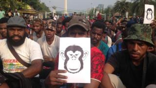 Demo papua