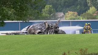 Nascar driver Dale Earnhardt survives plane crash in US
