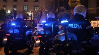 Italian police. File photo