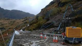 Landslip at Rest and Be Thankful