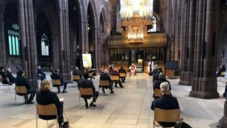 Manchester Cathedral service