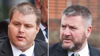 PC David Littlemore and PC John Richardson