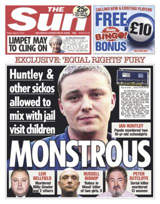 Sun front page - 24/05/19