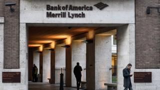 Bank of America Merrill Lynch office in London