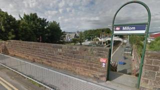 Millom train station