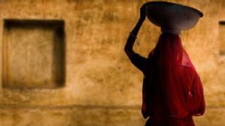 Hindistan'da bir kadın
