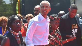 Obama, Kenya