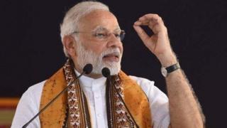 இந்திய பிரதமர் நரேந்திர மோதி