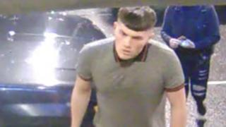 Falkirk assault suspect