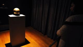 Nikola Tesla's remains in the Nikola Tesla museum