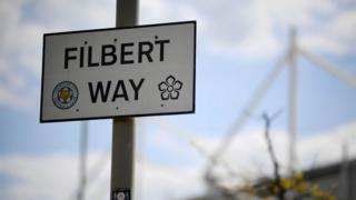 Filbert Way, in Leicester, sign