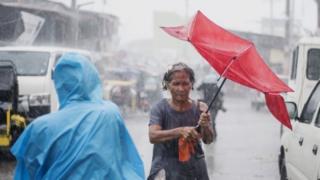 Filipinler'de fırtına