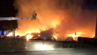 Oakley Road fire