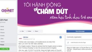 Mạng lưới GBVNET ra thông cáo bày tỏ sự bức xúc trước hiện trạng xâm hại tình dục trẻ em gái ở Việt Nam