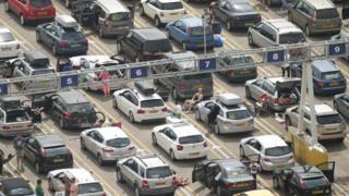 Delays at Dover
